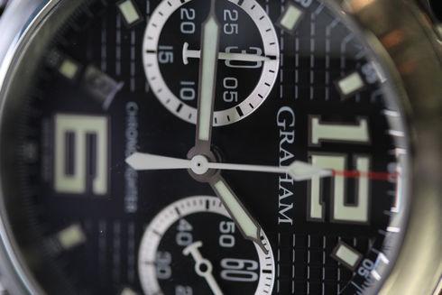 Graham Chronofighter R.A.C. Black Shock 2CRBS.B03A.L31BD
