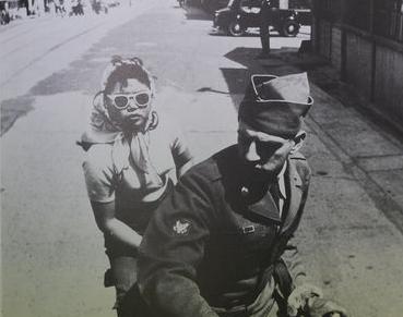 昭和年(1956)浜大津の風景