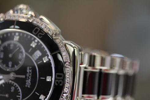 TAG HEUER  FORMULA ONE CERAMIC Diamond Chronograph【CAH1212.BA0862】