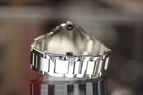 Cartier [カルティエ] W69012Z4 バロン・ブルーLM シルバー メンズ