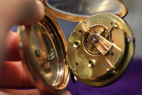 ハルディマン ショパール製 アラーム懐中時計