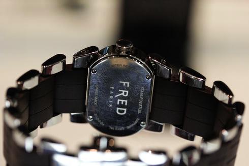 フレッド ムーブ ワン ダイヤベゼル ラバー ブラウン レディース FD012112A003
