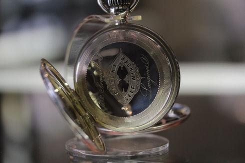 ロンジン 125周年1000個限定 懐中時計