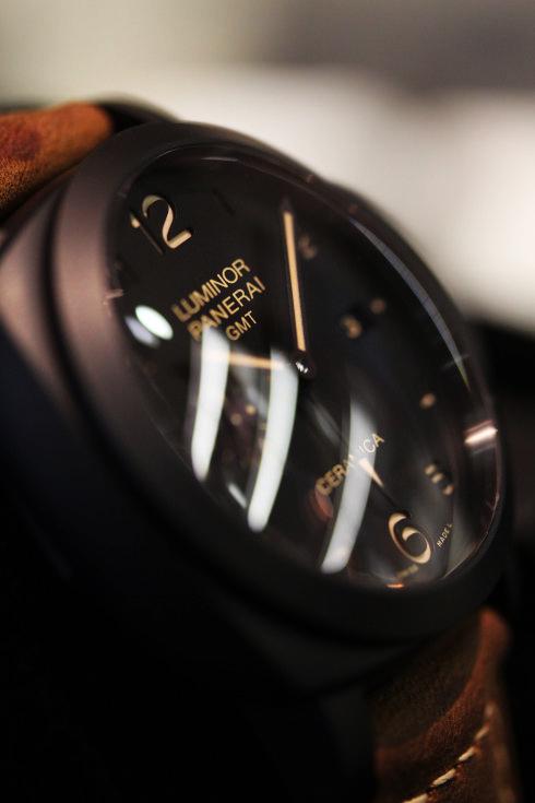 滋賀県質屋 ルミノール1950 3デイズ GMT チェラミカ 買取り品