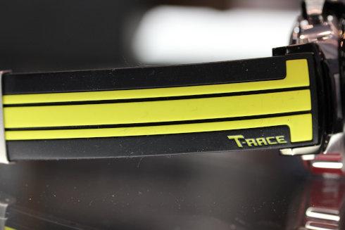 ティソ オートマティック 自動巻き クロノグラフ 限定 ベルト部分の画像
