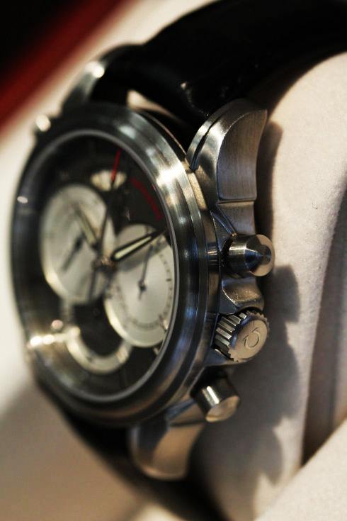 4848.40.31 Omega DeVille Co-Axial Rattrapante Mens Watch