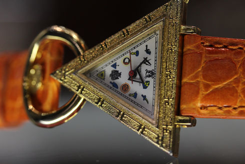 Freemason Triangle Watch