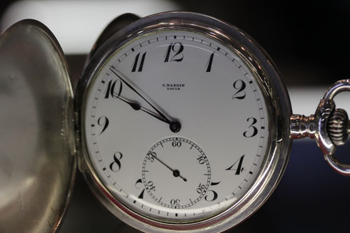 Ulysse Nardin(ユリスナルダン)の懐中時計を買い取りました。