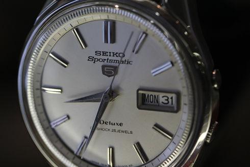 SEIKO Sportsmatic 5 Delux 7619-7010 25jewels