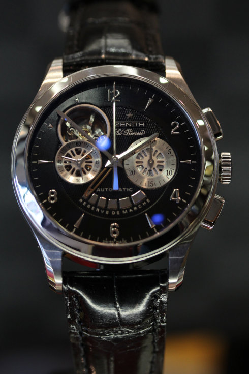ゼニス滋賀県 メンズ腕時計 クラスオープン エル・プリメロ 大津市の買取