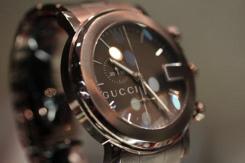 GUCCI【グッチ】101M クロノグラフ 腕時計 SS メンズ 【中古】