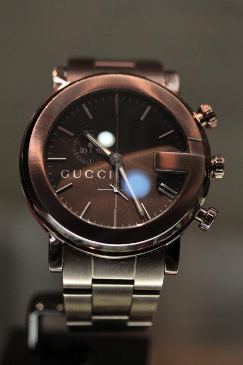 [グッチ]GUCCI 腕時計 101M ブラウン PVD 買取|GUCCI時計買取