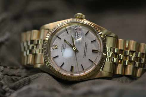 Rolex Oyster Perpetual Gold Datejust  ref 1601