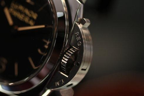 パネライ ルミノール 1950 3デイズ 手巻き レザー ブラウン/ブラック メンズ PAM00372