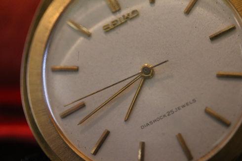 セイコー ティアドロップ型 懐中時計