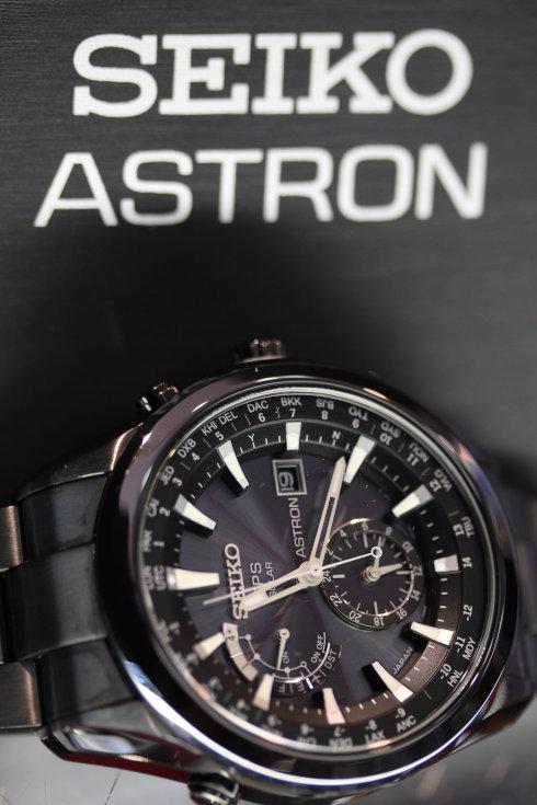 【未使用】セイコー アストロン SAST007 ブライトチタンSEIKOソーラー GPS/電波時計