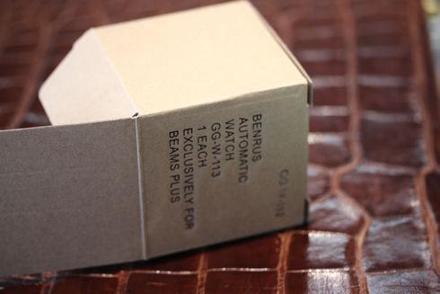 BENRUS×BEAMS PLUS(ベンラス×ビームス プラス)ミリタリーウォッチ/GG-W-113【中古】を買い取りました!