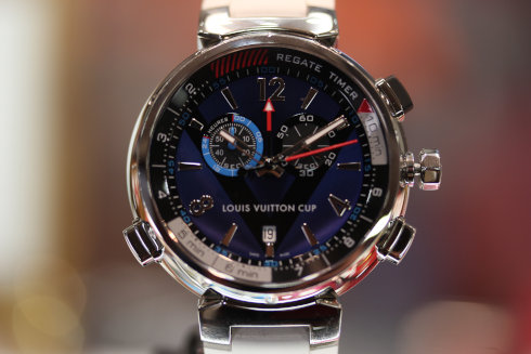 LOUIS VUITTON Tambour Regatta Navy Q102D