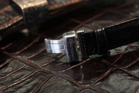 Hamilton Ventura Black Dial Men's Watch - H244110