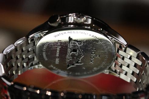 Edox Men's 62004 3 NIN Les Vauberts GMT Date Watch