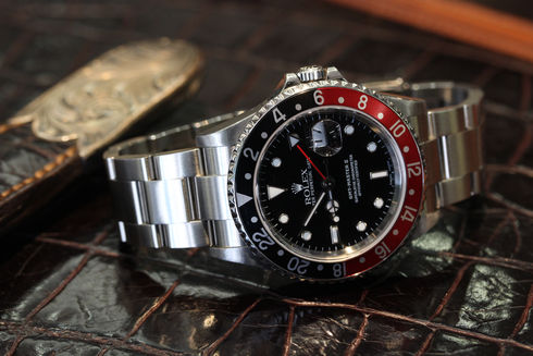 Rolex GMT MASTER II-RED/BLACK【Ref.16710】