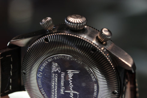 HAMILTON ハミルトンのケース裏の画像