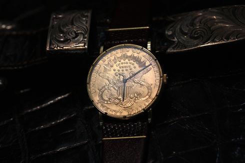 Corum $20 Gold Coin Watch【京都屋】