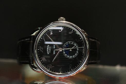 Hermes Arceau Grande Lune Steel Automatic Date