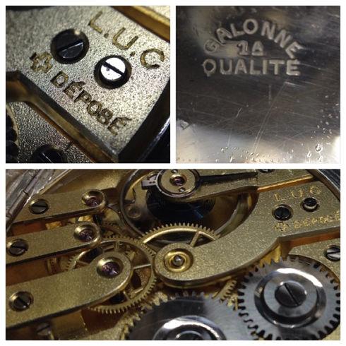 ショパールの歴史的ムーブL.U.Cの懐中時計を買い取りました!