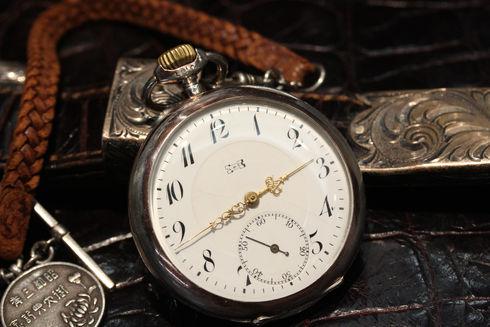 L.U.Cの懐中時計