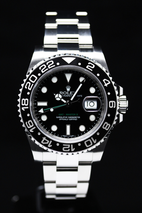 ROLEX GMT-MASTER II 116710LN [NEW]