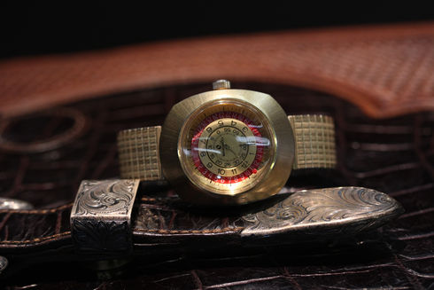 Sindaco 70s Mystery Dial Watch