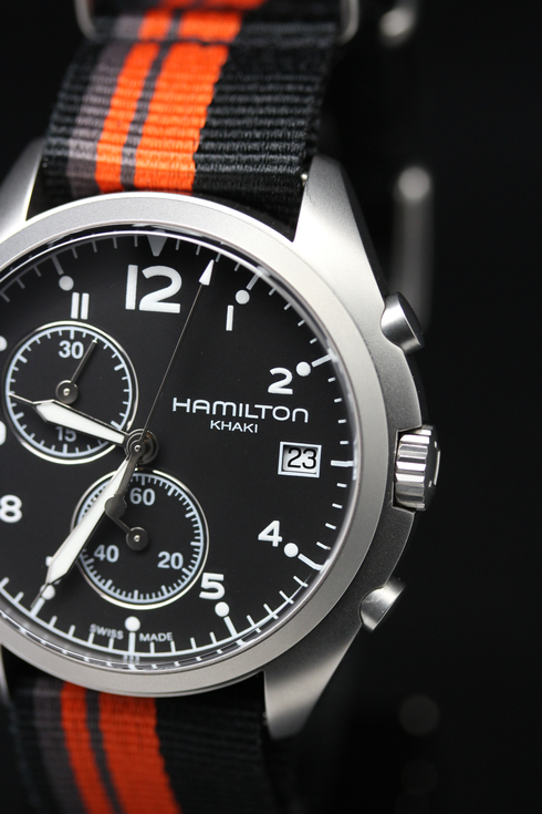 【ハミルトン】【H76552933】【HAMILTON KHAKI PILOT PIONEER CHRONO】【腕時計】