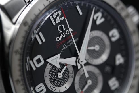 オメガ スピードマスター ブロードアロー クロノメーター オートマチック クロノグラフ ブラック メンズ 321.10.44.50.01.001