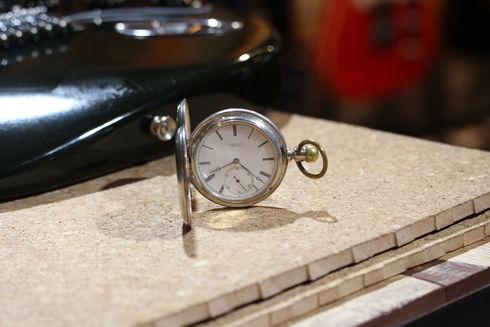 Tiffany&Co. ティファニー トリプルサイン 銀無垢ハンターケース懐中時計を買い取りました!