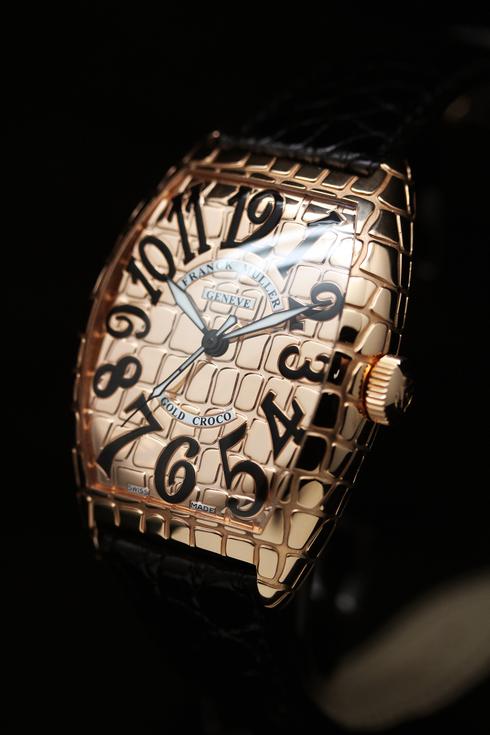 フランクミュラー トノー カーベックス ゴールド クロコ 8880 SC GOLD CRO FRANCK MULLER 時計
