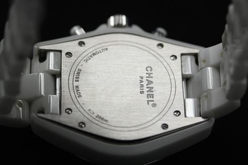 シャネルの買取 CHANEL J12 Automatic Chronograph Ref.H1008