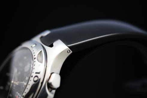 タグホイヤー(TAGHEUER)キリウム Ti5 CL1181 クロノグラフ プロフェッショナル チタン/ラバー クォーツ カーボン文字盤