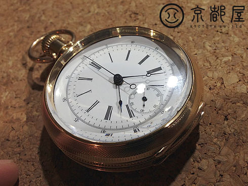 Longines Antique Chronograph Pocket Watch Lugrin's