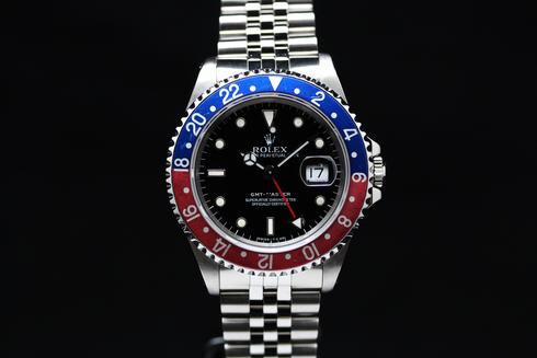 GMTマスター1 の画像 青/赤ベゼル 中古品 緊急セール