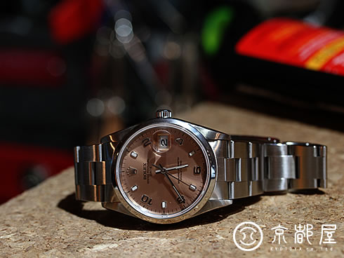 OYSTER PERPETUAL DATE Ref.15200