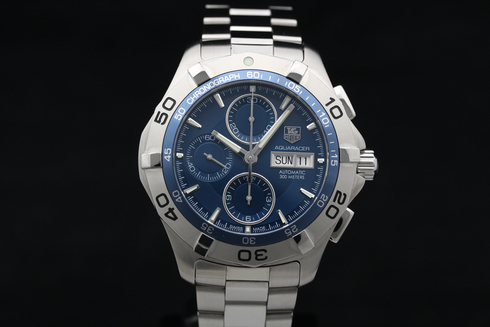 【TAG HEUER】NEW AQUARACER CHRONOGRAPH DAY-DATE CAF2012.BA0815