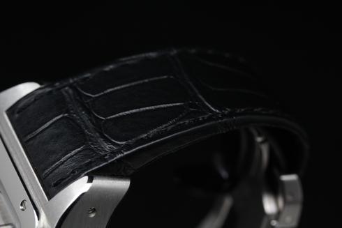カルティエ サントス100XL クロノグラフ メンズサイズを高価買取しました!
