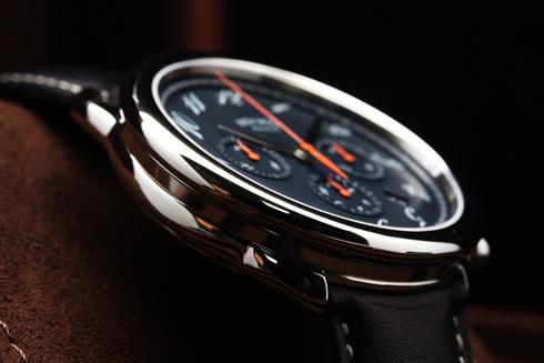 エルメス 腕時計 HERMES アルソー クロノ エベンヌ文字盤 自動巻き