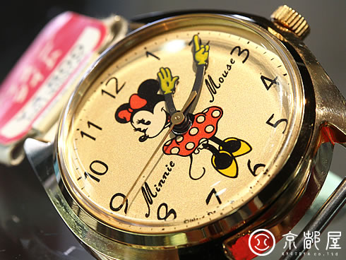 Disney Time Minnie Mouse【京都屋】