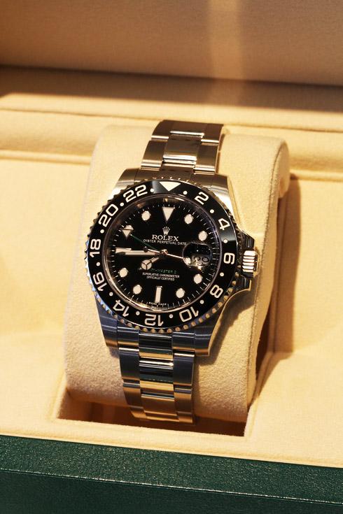 ロレックスの時計 GMTマスターⅡ モデルNo.116710ln  .jpg