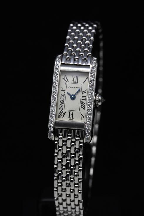 【Cartier】18k white gold & Diamond Ladies Watch (3)[1].jpg