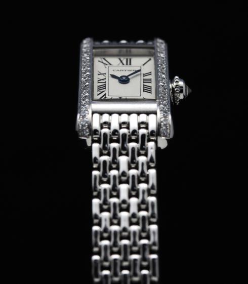 【Cartier】18k white gold & Diamond Ladies Watch (7)[1].jpg