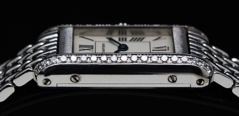 【Cartier】18k white gold & Diamond Ladies Watch (1)[1].jpg