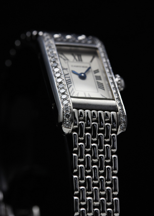 【Cartier】18k white gold & Diamond Ladies Watch (4)[1].jpg